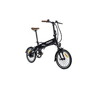 41iYlo4T3kL. SS300 Moma Bikes BIE16NUN, Bicicleta Elettrica Pieghevole Unisex – Adulto, Nero, Unica