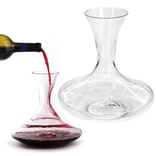 Promobo -Coffret Carafe A Décanter Décanteur Vin Luxe Diffuseur Arôme Sommelier 1,5L