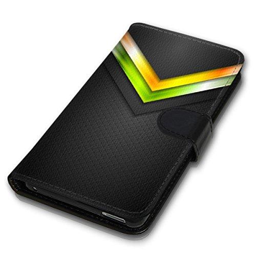 Wallet Book Style Flip Handy Tasche Case Schutz Hülle Schale Motiv Etui für Apple iPhone 5 / 5S - Variante UMV6 Design12 Design 6