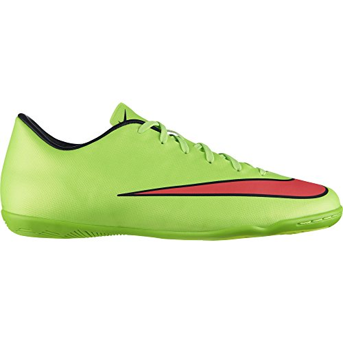 Nike JR Mercurial Victory V IC Kinder Hallen Fussballschuhe elctric green-hypr punch-black - 33,5 - Fußball Nike 2014 Schuhe