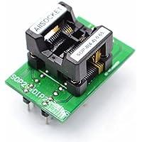 allsocket ssop8–4.4–0,65SOP8paquete TSSOP8ssop8a DIP8adaptador de programación pruebas/depuración (0,65mm de paso 4,4mm de ancho (173mil) s-ssop8(28) 0,65ots8(28) 0,65–01