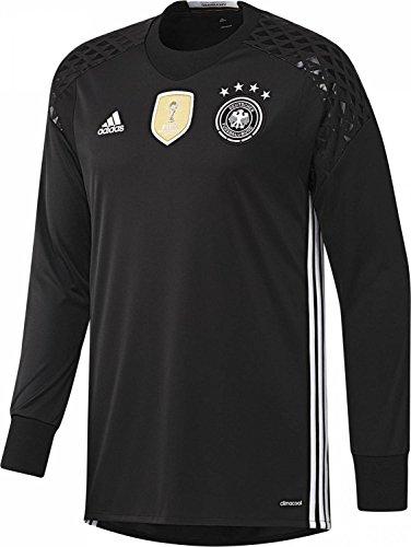 "adidas Performance Herren Fußballtrikot ""Home Torwarttrikot Deutschland"" EM 2016 AA0126 schwarz / weiss (910) L"