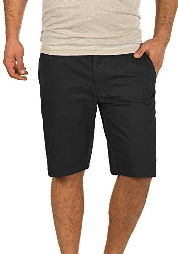 BLEND Sasuke Herren Chino Shorts kurze Hose, Größe:L;Farbe:Black (70155)
