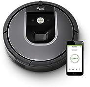 iRobot Roomba 960 der Volks-Saugroboter mit starker Saugkraft, 2 Multibodenbürsten, Navigation für mehrere Räu
