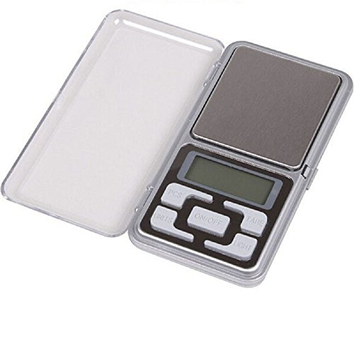 Jewelry Digital Scale, Rcool 0.01g~100g LCD Ultrathin Jewelry Gold Sliver Drug Herb Balance Weight Gram Scales Portable Pocket Mini Scale