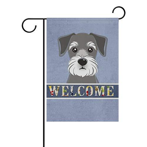 cm Garten-Flagge im Doppelseitig Welcome Flagge House Yard Flagge 28x40(in) Farbe ()