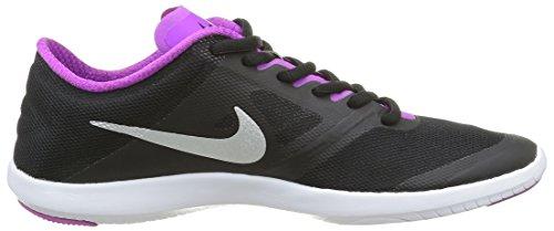 Nike Ladies Wmns Studio Trainer 2 Scarpe Da Tennis Nere (nero / Argento Metallizzato-hypr Vlt)