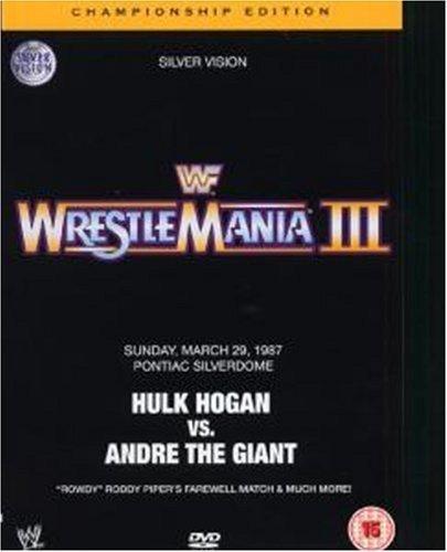 WWE Wrestlemania III - Championship Edition (2 DVDs) Wrestlemania 3 Dvd