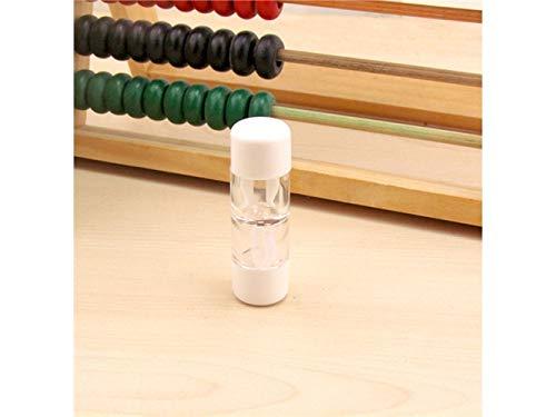 Young shinee Brillenetui Kontaktlinsenetuis Sets für Harte Linsen/RGP-Linsen Bulk (Weiß) für Lesebrille (Farbe : White)