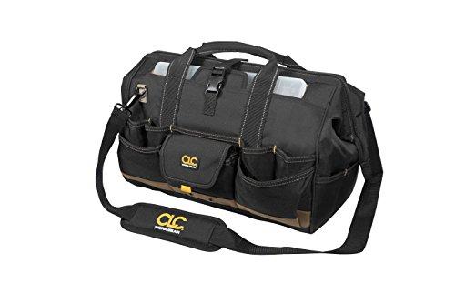 Custom Lederwaren 153312tasche mit Top Kunststoff Tablett, multi, 18