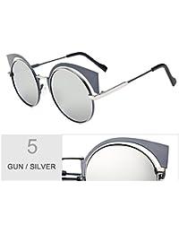 1baae3d983 TIANLIANG04 Gafas De Sol para Mujeres Anti Reflejo Gafas De Sol Polarizadas  Uv400,Pistola Silver