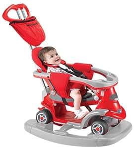 Logitoys - 3810503 - Vélo et Véhicule pour Enfants - Porteur All In One