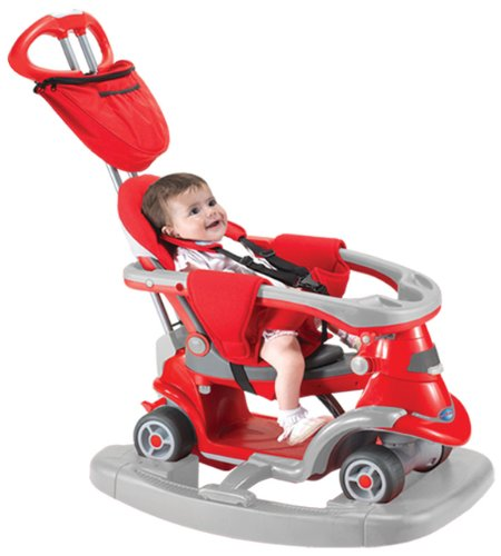 Preisvergleich Produktbild Kinderdreirad Smart Trike All in One 2 - rot