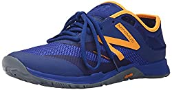 New Balance Men's 20v5 Minimus Training Shoe, Blueorange, 14.5 Uk