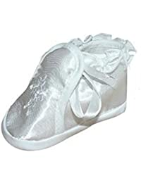 Zapatos festivas para bautizo o una boda - zapatos de bautizo para ni?as, bebés TP01 tama?o 18
