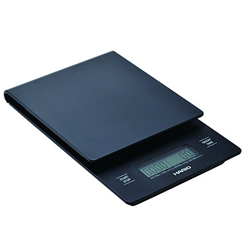Preisvergleich Produktbild Hario VST-2000B Hario Küchenwaage mit Timer, schwarz
