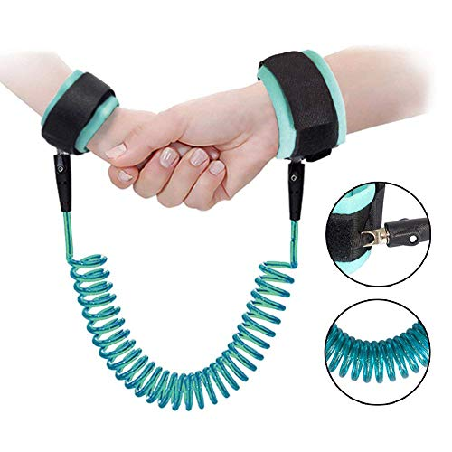 Anti Lost Wrist Link Safety Wrist Link for Toddler, Toddler Walking Safety Harness Link for Kids, Toddler Reins for Walking
