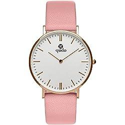 Qudo Eterni Ladies 'Watch Pink/4S/LIGHT GREY 800392