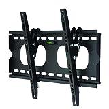 Support mural pour télévision / moniteur noir inclinable à 12° pour Philips 55
