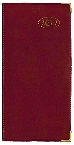 tallon-2017-visualizzazione-settimanale-colore-rosso-linea-business-diary-3634-ufficio-colore-rosso