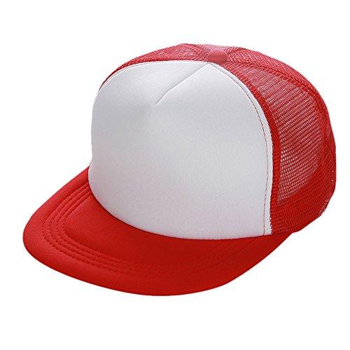 Kostüm Mädchen Guinness - Zottom Unisex Mesh Baseball Cap Hut leer Visier Hut einstellbar RD