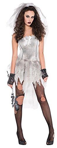 Up Dress Horror (Zombiebraut-Drop Dead Gorgeous- Kostüm Damen Gr.)