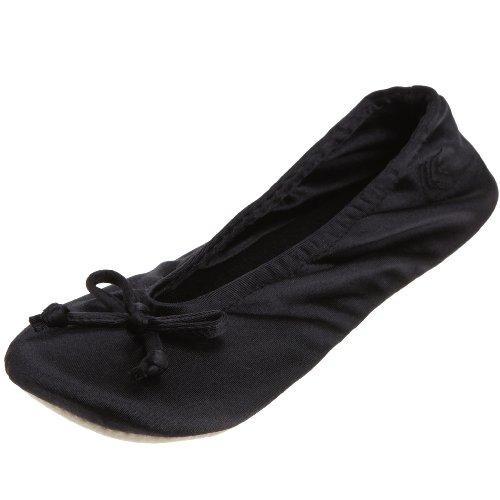 Isotoner Tote (totes ISOTONER Damen Ballerinas schwarz Gr.L)
