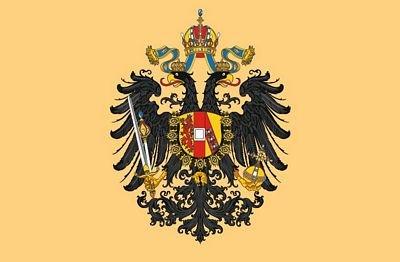 Autoaufkleber Sticker Fahne Österreich Ungarn Adler Flagge Aufkleber