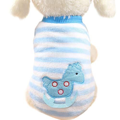 Haustier Hund Kleidung Winter Warm Pullover Haustier Mantel Hund Kleider Stricken Tierbedarf-Dog Pet Clothes
