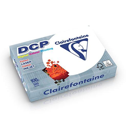 Clairefontaine Ramette de 500 feuilles papier blanc DCP 100 gr A4