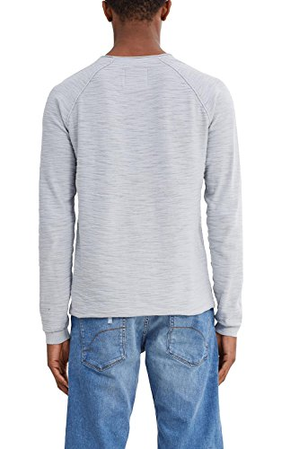 edc by Esprit 047cc2i002, Pull Homme Gris (Light Grey)