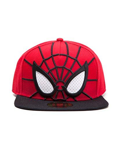 Spiderman Snapback Cap [Other Platform] 3D with Eyes