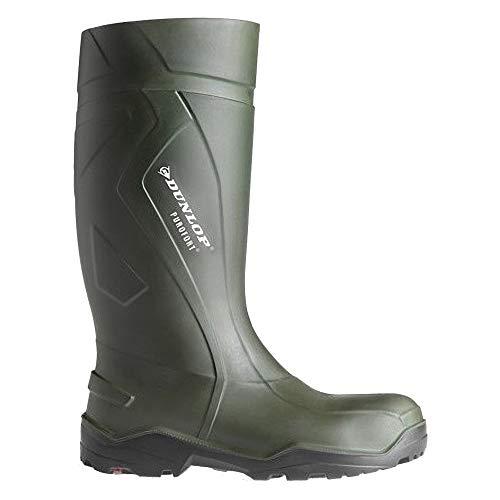 Dunlop Herren Tasche (Dunlop C762933 Purofort+ Sicherheits Gummistiefel (46 EUR) (Grün))