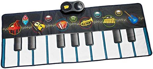 Playtastic Kinder Spielzeug: Berührungsempfindliche Musikmatte mit 6 Instrumenten (Spielmatte)
