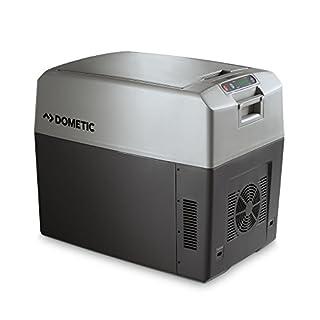 Dometic TropiCool TC 35FL, tragbare thermo-elektrische Kühlbox/Heizbox, 33 Liter, 12/24 V und 230 V für Auto, Lkw, Boot und Steckdose, Energieklasse A++