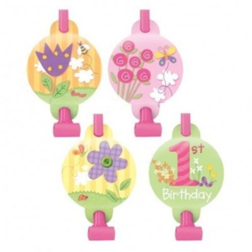 """8 sans-gênes Spécial 1er anniversaire fille """"Happy 1st Birthday"""" 0048419604181"""