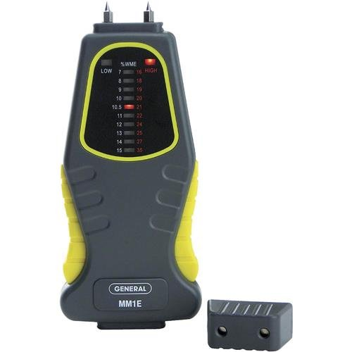 General Tools Feuchtigkeitsmesser, Pin-Typ, LED-Balkendiagramm (MM1E) Bar Graph Meter
