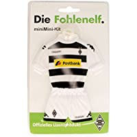 Borussia Mönchengladbach - Minitrikot mit Saugnapf Home - Saison 2016-17 - 17 cm X 13 cm