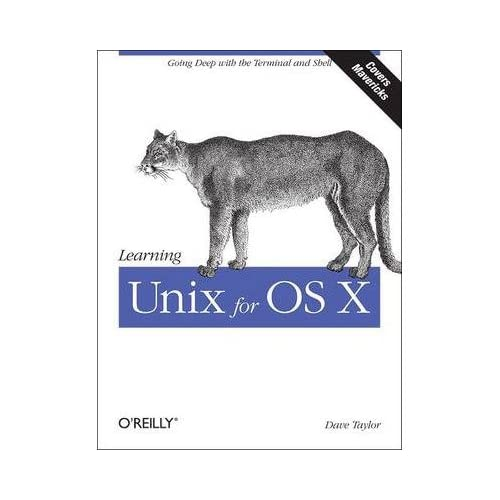Learning Unix for OS X Mountain Lion: Using Unix and Linux Tools at the Command Line (Paperback) - Common