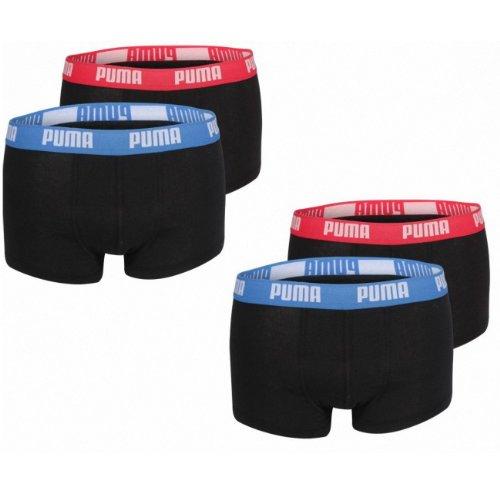 Puma Short Boxer NOS 4er Pack + 1 Fashion Puma Boxer Gratis blau/grau (417)