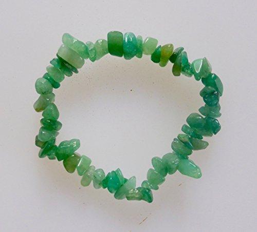 bracelet-eclats-daventurine-verte-cristal