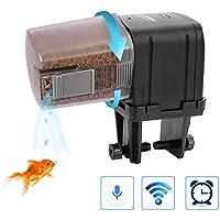 Lychee - Alimentatore Automatico per Acquario, Controllo WiFi, Timer con Display LCD, per Acquario, laghetti, Vacanze