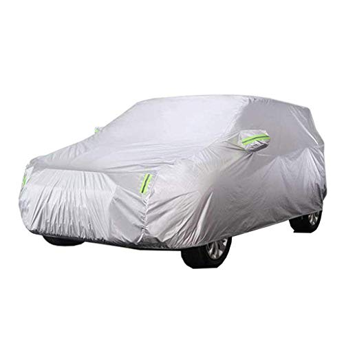 HAMIMI Car Cover dick Oxford Tuch Anti-Fouling Sonnenschutz Regen warme Abdeckung für Nissan Qashqai Geländewagen SUV Autoabdeckung (Color : 2017)