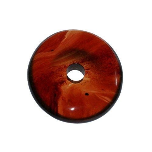 Bernstein 1 Donut 50 mm aus Indonesien Lochdurchmesser ca. 7.5 mm Donut Stärke 8 mm.