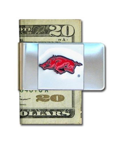Siskiyou NCAA Geldklammer aus Stahl, Herren, Arkansas Razorbacks