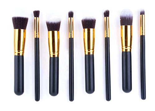 Ardisle 8pcs Kabuki Concealer Rouge-Puder-Gesicht Make-up-Pinsel-Werkzeug Cremen Kontur
