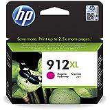 HP 912XL 3YL82AE, Cartouche d'encre Magenta authentique, grande capacité, pour imprimantes tout-en-un HP OfficeJet Pro 8022/ 8023/ 8024/ 8025