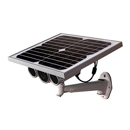 Galleria fotografica Telecamera Ip Wireless LKM Security® con pannello solare e batteria da Esterno P2P Wifi HD 720P