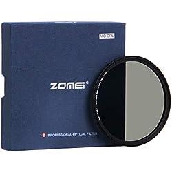 ZOMEi 77mm CPL Filtre Verre Multicouche Polarisant Circulaire Verre Filtre Polarisé Anti-Poussière Anti-Rayures Imperméable pour Canon Nikon Tous DSLR de caméra + Chiffon de Nettoyage en Microfibre