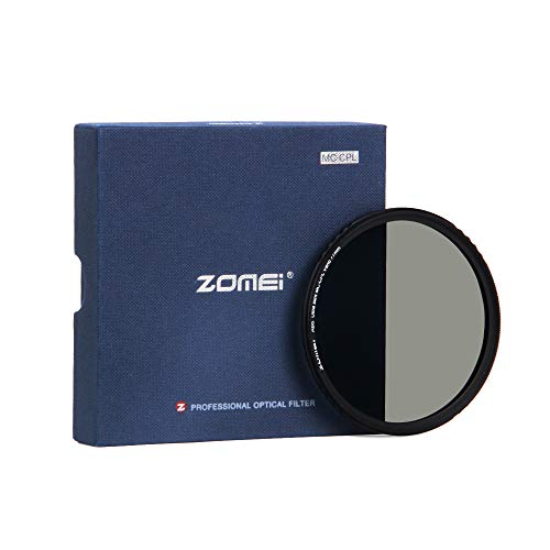 Polarisations-Filter, Zirkularer Polfilter, ZOMEi 77mm Polarisationsfilter Optisches Glas & Aluminium Für Foto-Kameraobjektive